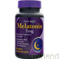 Melatonin 5mg 60 tabs NATROL