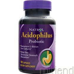 Acidophilus 100 caps NATROL