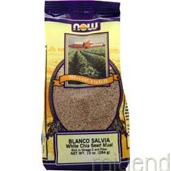 Blanco Salvia White Chia Seed Meal 10 oz NOW