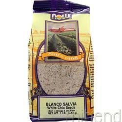 Blanco Salvia White Chia Seeds 1 lbs NOW