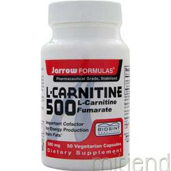 L-Carnitine 500 50 caps JARROW