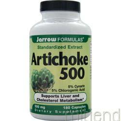Artichoke 500 180 caps JARROW