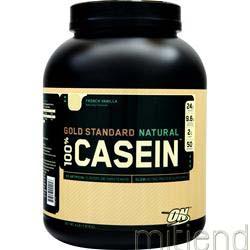 100% Gold Standard Casein Protein Natural Fren