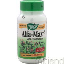 Alfa-Max 525mg 100 caps NATURE'S WAY