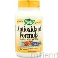 Antioxidant Formula 100 tabs NATURE'S WAY