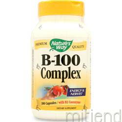 B-100 Complex 100 caps NATURE'S WAY