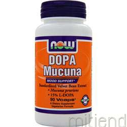 DOPA Mucuna 90 caps NOW