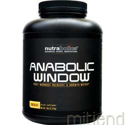Anabolic Window Chocolate 5 lbs NUTRABOLICS