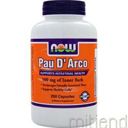 Pau D' Arco 500mg 250 caps NOW