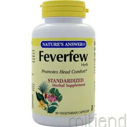 Feverfew 90 caps NATURE'S ANSWER