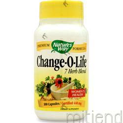 Change-O-Life 100 caps NATURE'S WAY