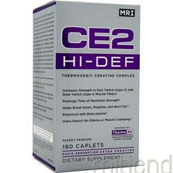 CE2 HI-DEF 180 caps MRI