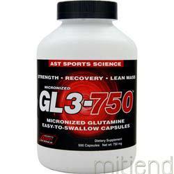 GL3 750mg 500 caps AST