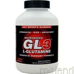 GL3 - Micronized L-Glutamine 18 52 oz AST