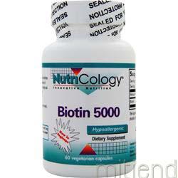 Biotin 500 60 caps NUTRICOLOGY