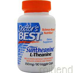 Suntheanine L-Theanine 90 caps DOCTOR'S BEST