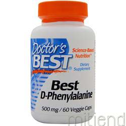 Best D-Phenylalanine 60 caps DOCTOR'S BEST