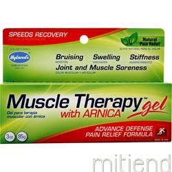 Muscle Therapy Gel with Arnica 3 oz HYLANDS HOMEOPATHIC