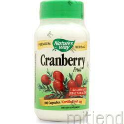 Cranberry Fruit 100 caps NATURE'S WAY