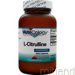 L-Citrulline 100 gr NUTRICOLOGY