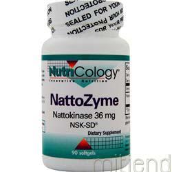NattoZyme 36mg 90 sgels NUTRICOLOGY
