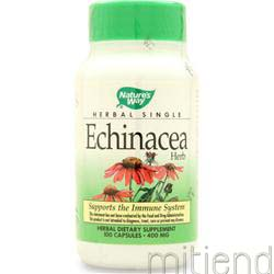 Echinacea Purpurea 100 caps NATURE'S WAY