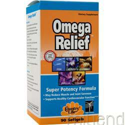 Omega Relief 90 sgels COUNTRY LIFE