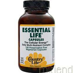 Essential Life 120 caps COUNTRY LIFE