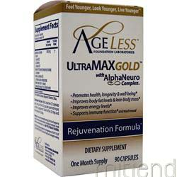 UltraMax Gold 90 caps AGELESS FOUNDATION LABORATORIES