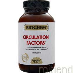 Circulation Factors 100 tabs BIOCHEM