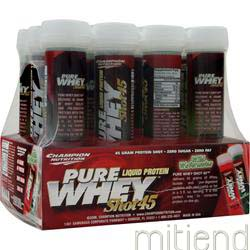 Pure Whey Shot 45 Wild Watermelon 12 unit CHAMPION NUTRITION