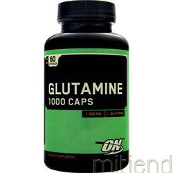 Glutamine 1000mg 60 caps OPTIMUM NUTRITION