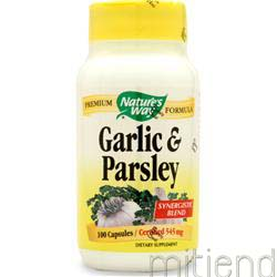 Garlic-Parsley 100 caps NATURE'S WAY