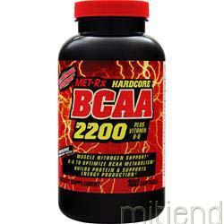 Hardcore BCAA 2200 180 sgels MET-RX