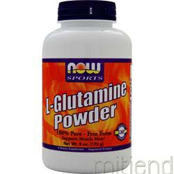 L-Glutamine Powder 6 oz NOW