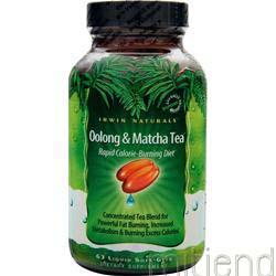 Oolong and Matcha Tea 63 sgels IRWIN NATURALS