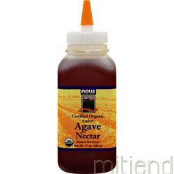 Certified Organic Agave Nectar 17 fl oz NOW