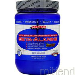 Beta-Alanine 400 gr ALLMAX NUTRITION