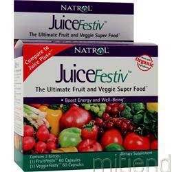 JuiceFestiv 120 caps NATROL
