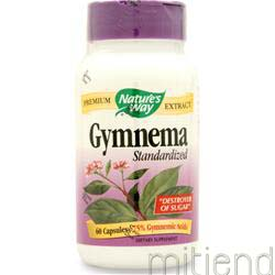 Gymnema - Standardized Extract 60 caps NATURE'S WAY