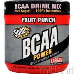 BCAA Power 5000mg Fruit Punch 500 gr LABRADA