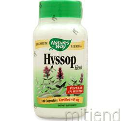 Hyssop 100 caps NATURE'S WAY