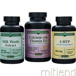 Milk Thistle Extract 600mg 120 kcaps MERIDIAN NATURALS