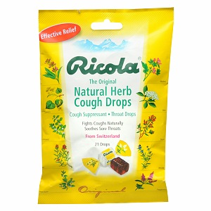 Walgreens Sugar Free Cough Drops, Black Cherry 25 ea