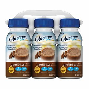 Glucerna Mini-Snack Bar for People with Diabetes, Chocolate Peanut 4 ea