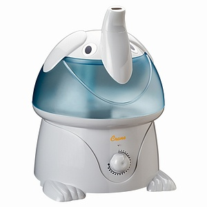 Crane Adorable Ultrasonic 1 Gallon Humidifier, Pig 1 ea