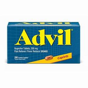 Advil Advanced Medicine for Pain, Easy Open Cap, 200mg, Tablets 100 ea