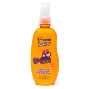 Johnson's Buddies No More Tangles Easy-Comb Spray 8 fl oz (236 ml)