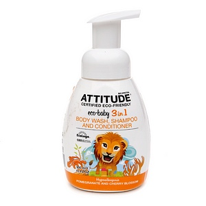 Attitude Eco-Baby 3 in 1 Body Wash