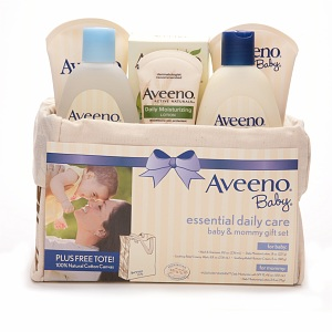 Aveeno Baby Essential Daily Care for Baby & Mommy Gift Set 1 set